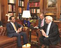 Deputy PM and FM holds talks in Athens