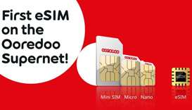 Ooredoo to offer eSIM technology on its 'Supernet' network