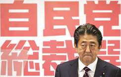 Abe vows to tweak Japan's pacifist charter after victory