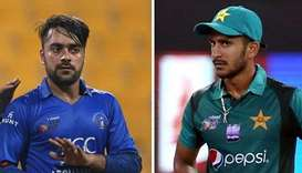 Rashid Khan and Hasan Ali