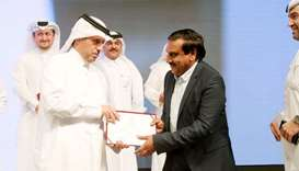 Indian entrepreneur felicitated by PM