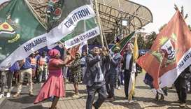Opposition party launches campaign ahead of SA vote