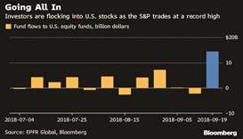 Fed fear absent in US stocks as bourses plow back to record
