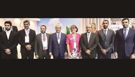 MoTC minister visits Qatar's pavilion at Seatrade Cruise Med in Lisbon