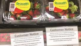 Australia strawberries