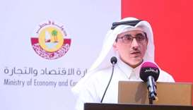Talib al-Ajji outlining the salient features of the new FDI law which is expected to come into force