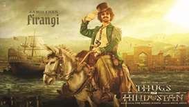 Aamir unveils his wily Thugs of Hindostan look