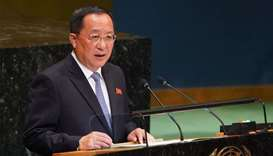 North Korean Foreign Minister Ri Yong-ho
