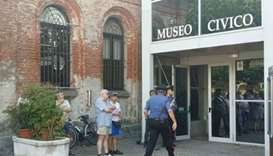 One dead after woman attacks Italian museum-goers with knife