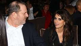 Producer Harvey Weinstein and actress Penelope Cruz (file photo)