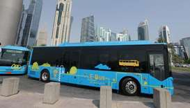 Electric bus testing kicks off on Qatar roads