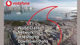 The future is here: Vodafone deploys Tetra services in Msheireb Doha