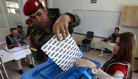 Polls open in Iraqi Kurdistan for regional election
