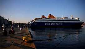 Tourists stranded as Greek ferry workers extend strike