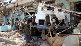 Saudi-led coalition insists deadly Yemen strike 'legitimate'