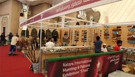 Falcons exhibition at Katara attracts 150 participants