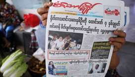 Myanmar media, activists condemn conviction of Reuters reporters