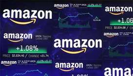 Amazon tops $1 trillion in stock market value