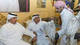 PM inaugurates hunting and falcons show at Katara