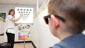 Eyesight of 25% students in private schools 'below normal'