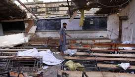 Islamic State claims twin Kabul bomb attack that killed at least 26