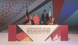 Amir, Merkel witness formation of joint trade, investment task force