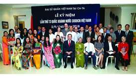 Vietnam embassy celebrates country's National Day