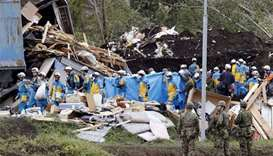Hunt for survivors as Japan quake toll rises to 30