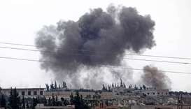Regime, Russian air raids resume on Syria's Idlib