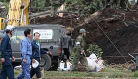 Japan PM visits quake-hit Hokkaido as toll rises to 42
