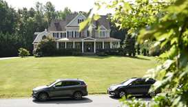 The house in Stafford, Virginia, of alleged spy, Oleg Smolenkov