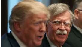 Trump announces firing of national security chief Bolton