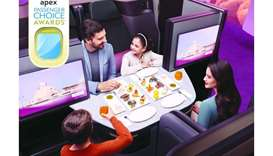 Qatar Airways scoops 3 out of 5 APEX Passenger Choice Awards