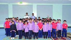 General Directorate of Traffic continues awareness programmes in schools