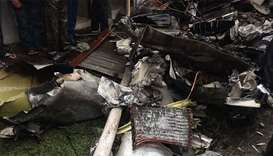 Nine killed in Philippine air-ambulance crash