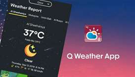 Q Weather to bring updates to fingertips