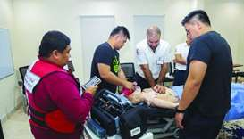 Hundreds gain from QRCS' medical, health education courses