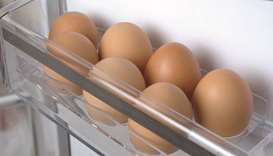 Eggs are one of the items that won't last in your refrigerator more than four hours after it loses p