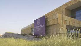 The Northwestern University in Qatar campus in Doha.