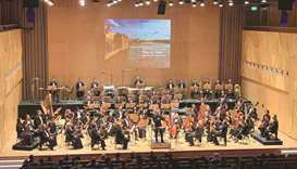 Visiting German conductor leads orchestra at QNCC