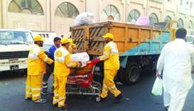 Inspection campaign held at Souq Al Haraj