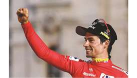 Roglic rules Vuelta in a first for Slovenia