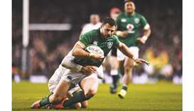 Centre Henshaw ruled out of Ireland opener against Scots