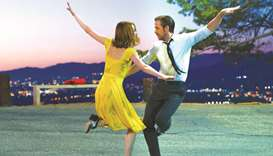 A publicity shot from La La Land.