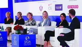 Women sport leaders discuss challenges