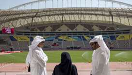 Amir tours facilities of IAAF World Athletics Championships Doha 2019
