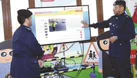 "The website ""Policeman My Friend"" serves to break the barrier between children and police as it is f"