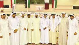 Qatar's Al Gannas Association members.