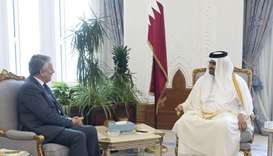 Deputy Amir meets CEO of Royal Dutch Shell