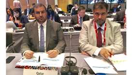 The Qatari delegation is led by the chairman of Qatar General Organisation for Standardization and M
